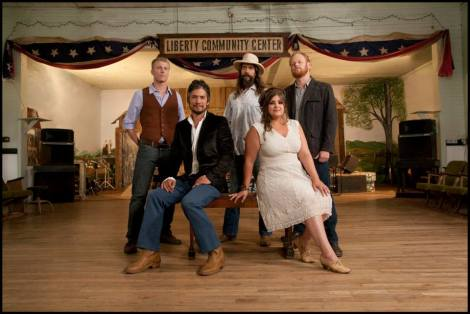 The Black Lillies. Both Photos by Deone Jahnke at Liberty Community Center. Courtesy of the artist.