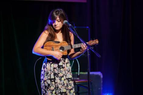 2013 Fall Winner Amanda Goebel performing.