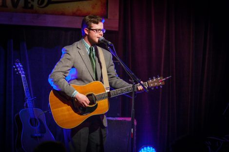 Host Benton Leachman. Photo by Jon Taylor