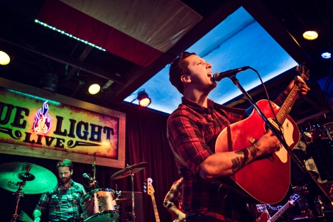 American Aquarium at Blue Light, January 16, 2015. Photo by Susan Marinello/New Slang
