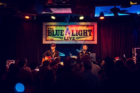 The O's at Blue Light, January 16, 2015. Photo by Susan Marinello/New Slang