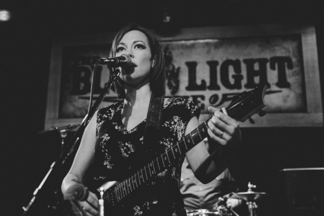 Amanda Shires at The Blue Light on Wednesday, February 11, 2015. Photo by Susan Marinello/New Slang