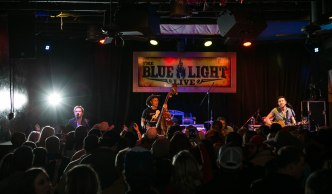 The Dirty River Boys live at Blue Light, January 30, 2015. Photo by Susan Marinello/New Slang