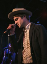 Kirby Brown at Blue Light in Lubbock, Texas on Saturday, February 07. Photograph by Susan Marinello/New Slang.