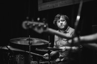 Grady Sandlin at The Blue Light on April 04, 2015. Photo by Susan Marinello/New Slang.