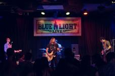 Daniel Markham at The Blue Light on April 04, 2015. Photo by Susan Marinello/New Slang.