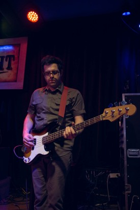 Tony Ferraro at The Blue Light on April 04, 2015. Photo by Susan Marinello/New Slang.