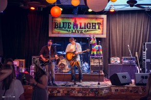Casey Berry and Parker McCollum at The Blue Light. Photograph by Susan Marinello/New Slang