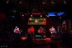 Wade Parks, Stephen St. Clair, Dave Martinez, and Lou Lewis at The Blue Light. Photograph by Susan Marinello/New Slang