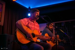 Stephen St. Clair at The Blue Light. Photograph by Susan Marinello/New Slang