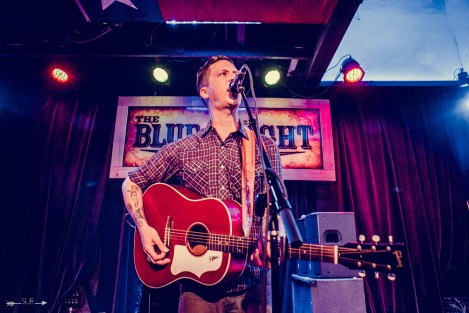 BJ Barham at The Blue Light. Photograph by Susan Marinello/New Slang.