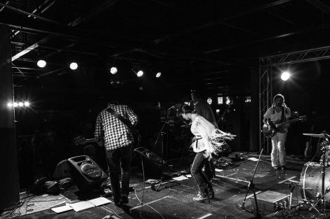Estelline live in Lubbock, 2013. Photograph by Landan Luna/New Slang.