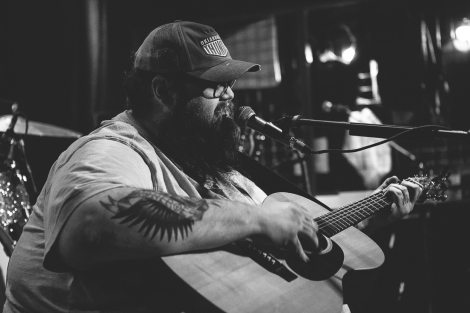 John Moreland at The Blue Light. Photo by Landan Luna/New Slang.