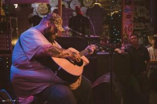 John Moreland at The Blue Light. Photograph by Susan Marinello/New Slang.