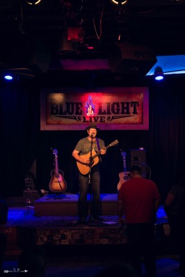 Jon Young at The Blue Light. Photograph by Susan Marinello/New Slang.