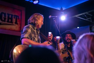 William Clark Green and Josh Serrato at The Blue Light. Photograph by Susan Marinello/New Slang.