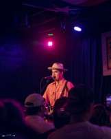 Cleto Cordero at The Blue Light. Photograph by Susan Marinello/New Slang.