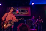 Cleto Cordero, William Clark Green, and Josh Serrato at The Blue Light. Photograph by Susan Marinello/New Slang.