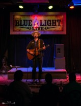 Drew Kennedy at The Blue Light. Photograph by Susan Marinello/New Slang.