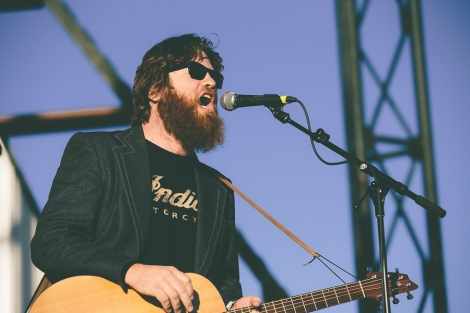 Kevin Galloway of Uncle Lucius. Photograph by Landan Luna/New Slang.